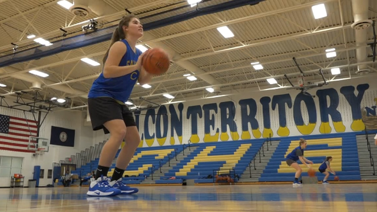 Maria plans to play Basketball in College but is still undecided about which school she will goto.