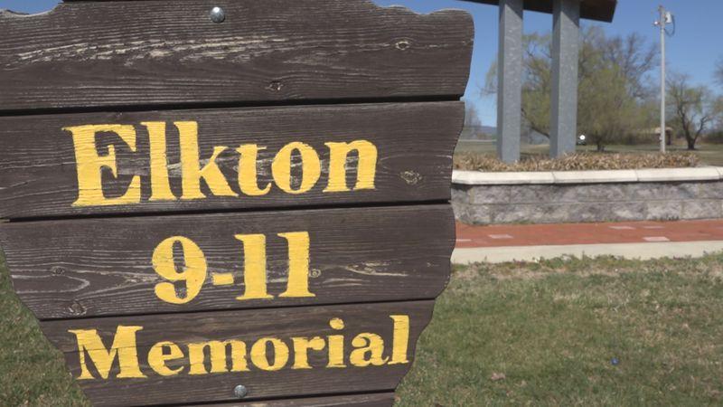 Elkton 9/11 memorial in Stonewall Memorial Park