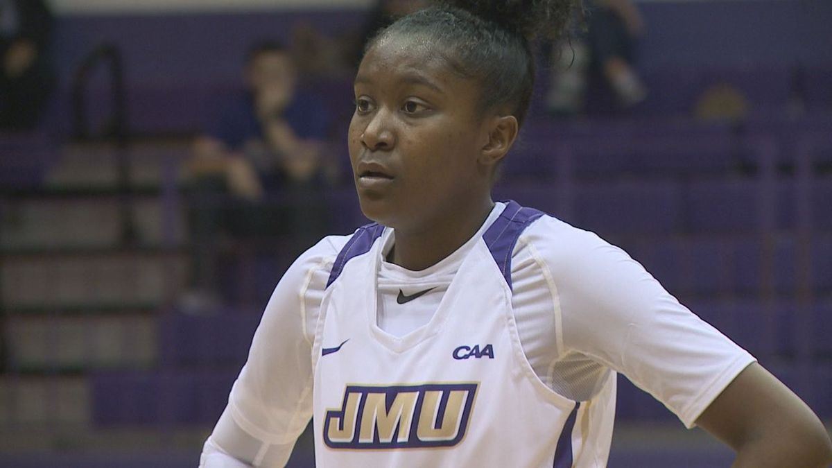 JMU freshman Kiki Jefferson is the CAA women's basketball Freshman of the Week.