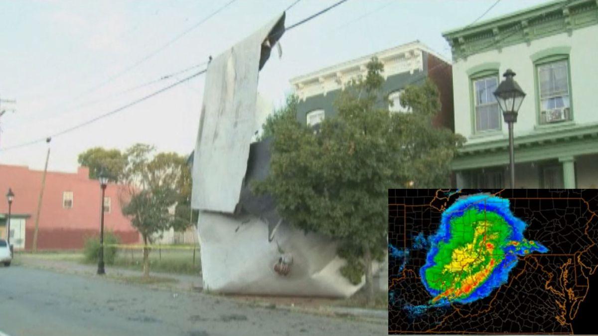 Damage from the 2012 derecho