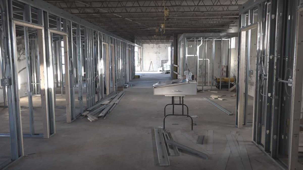 The upper level of the diner will host the co-working space with a lot of different options | Photo: WHSV