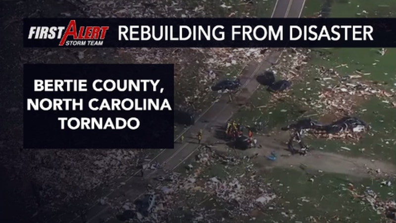 A deadly tornado spawned in eastern North Carolina from Isaias as it headed up the East Coast.