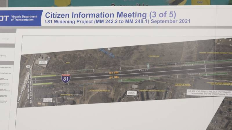VDOT holds citizen information meeting for I-81 expansion project