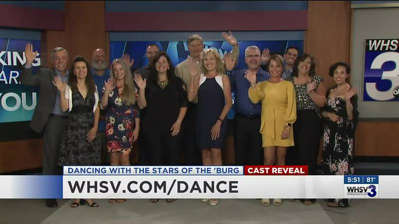 Dancing with the Stars of the 'Burg Cast Reveal