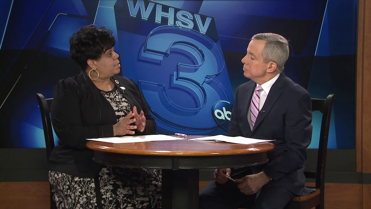 Harrisonburg Mayor Deanna Reed and Bob Corso speak in a 1on1 interview on January 14.