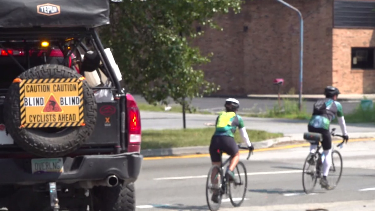 Shawn Cheshire and her crew continuing their ride of a lifetime after stopping in Roanoke on...