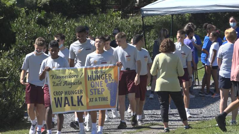 Over 100 people came out to Ridgeview Park in Waynesboro on Sunday to participated in the...