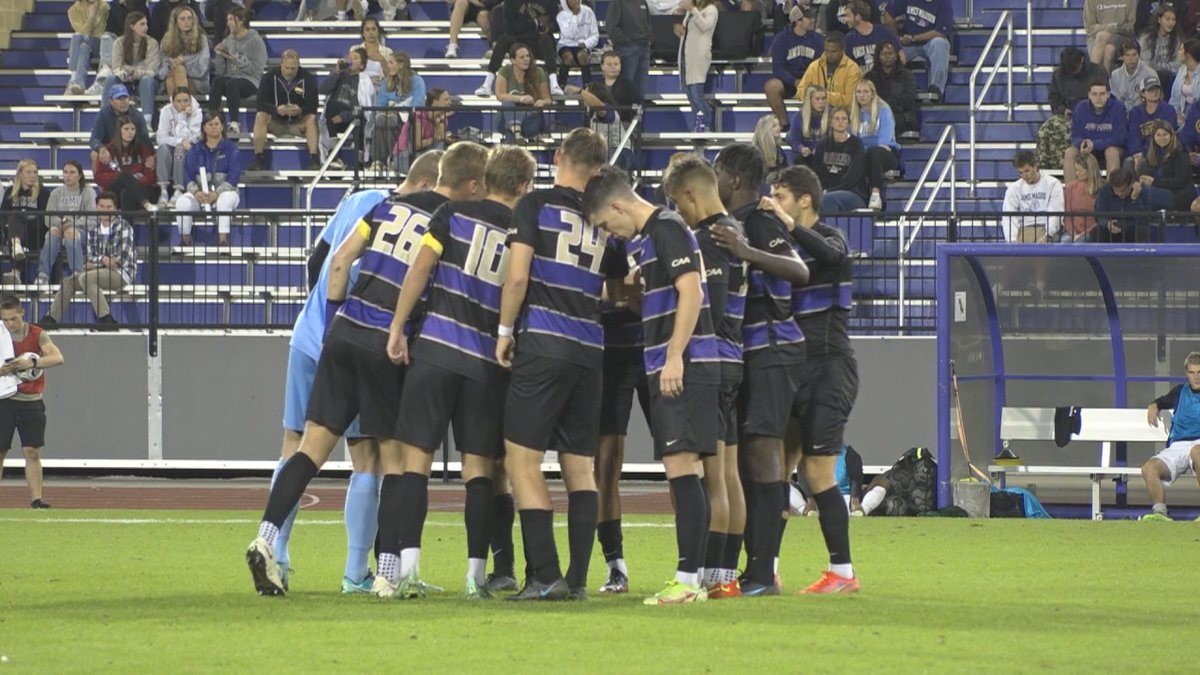 The James Madison men's soccer team is moving up the national rankings.
