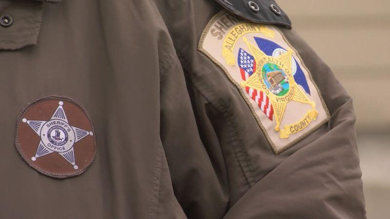 An Alleghany County sheriff's deputy.