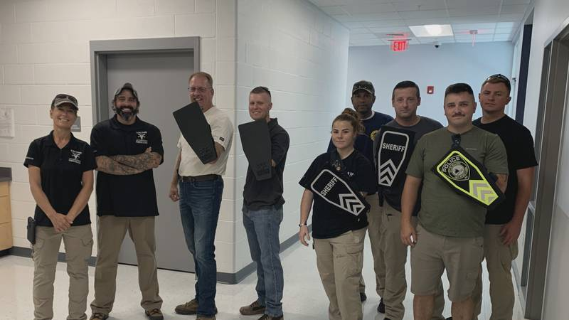 The Shenandoah County Sheriff's Office has begun using a new type of police shield. It's...