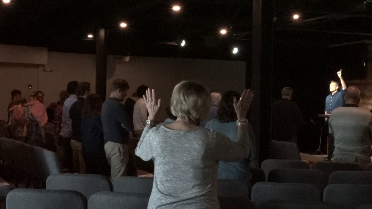 GraceBuilt Church reopened early for in-person services at 30 percent capacity.