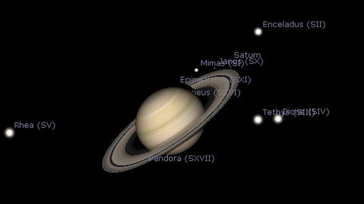 Saturn will change its motion on Sunday May 23rd.