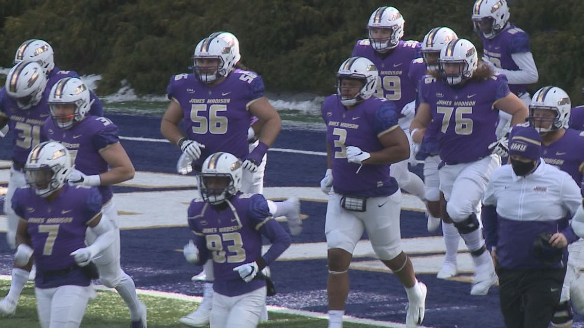 The James Madison football team's next two games have been postponed.