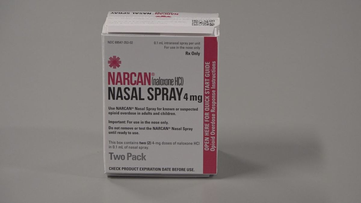 """Narcan is only prescribed to those who are considered """"high risk"""" for having..."""