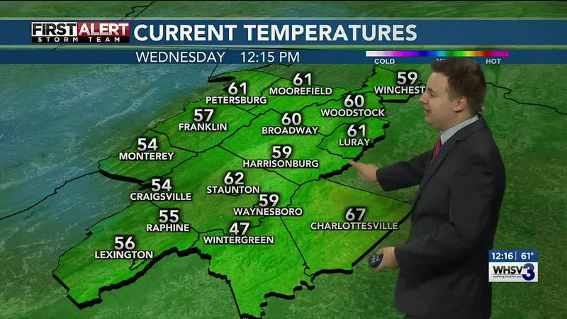 Noon Weather Forecast 10/27/2021