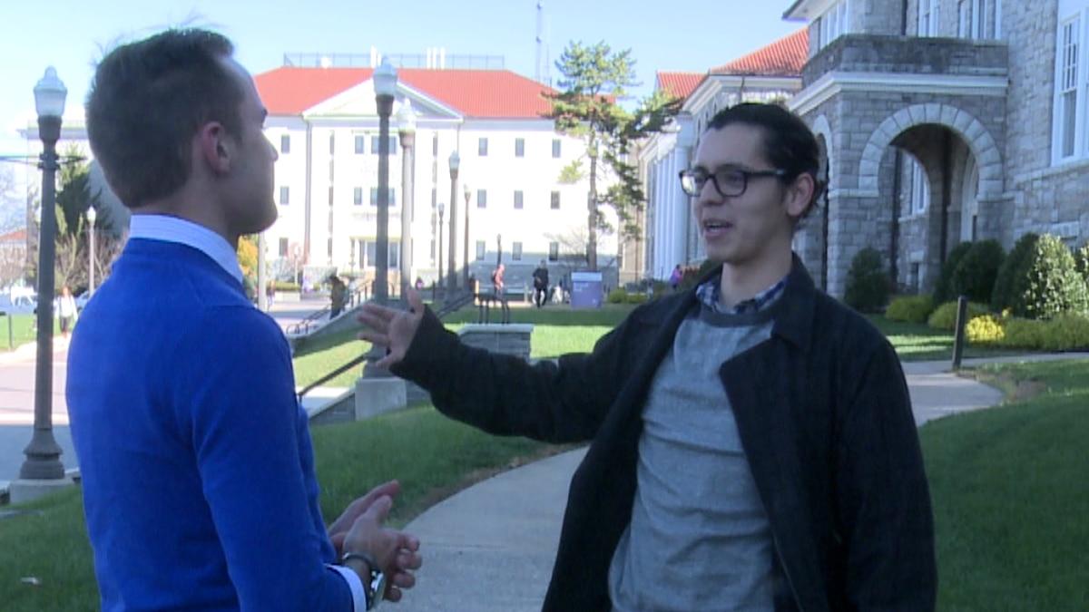 Deigo Salinas drafted the petition calling for JMU to become a sanctuary campus