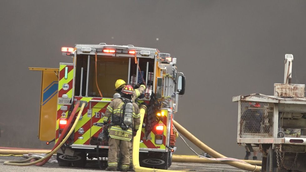 Local crews responded to a fire at 71 Expo Road Fishersville, Virginia, at 10:30 a.m. Thursday,...