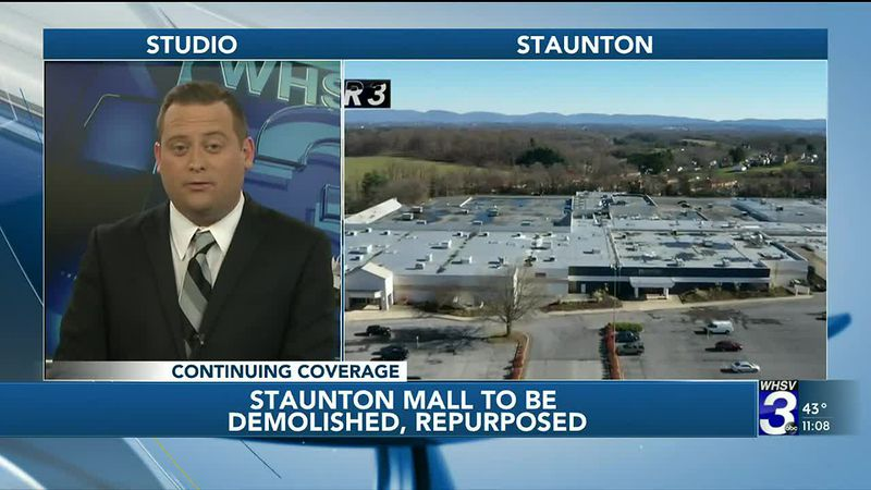 Staunton Mall to be demolished, repurposed for mixed-use development
