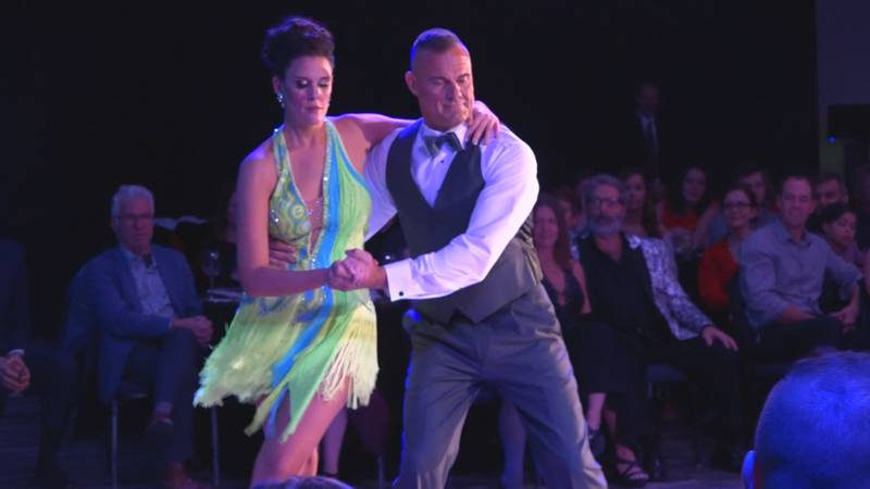 Photo from the 2019 Dancing with the Stars of the 'Burg fundraiser.