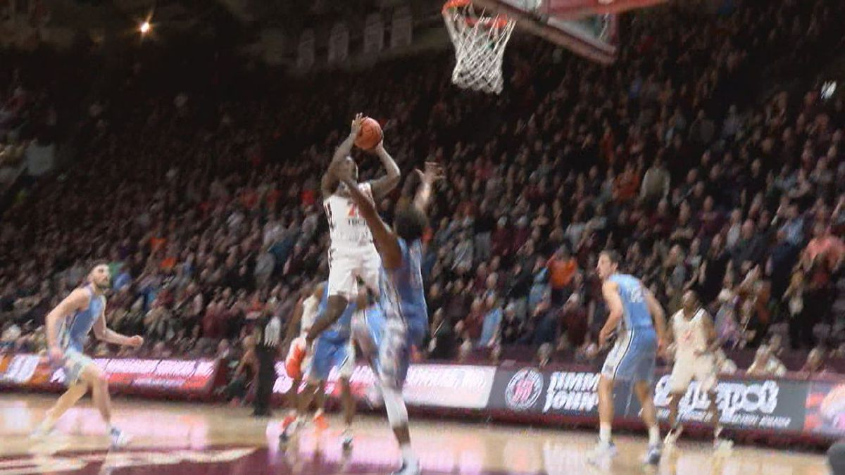 Tyrece Radford's bucket with 0.4 seconds left in double overtime lifted Virginia Tech to a...