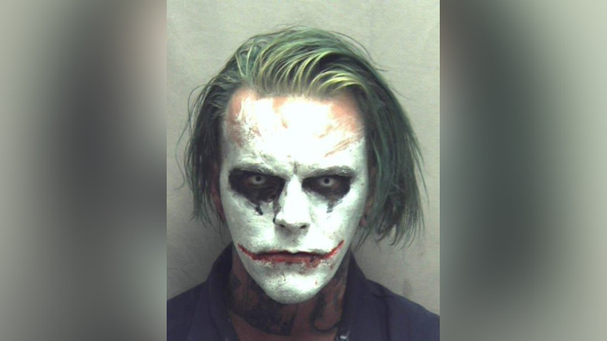 Jeremy Putman, 31, arrested in Winchester on a felony charge of wearing a mask in public while...