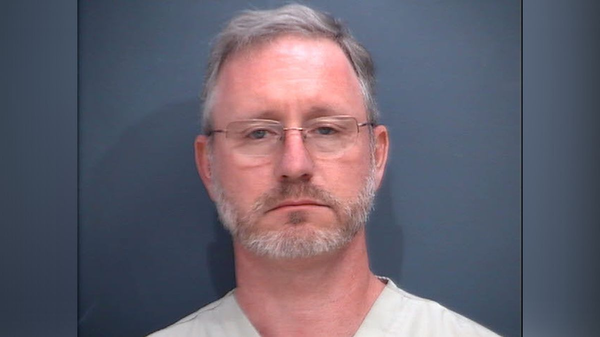 David James Carver, Jr., 48 years old, faces twenty-four counts of Possession of Child Pornography. Photo from Waynesboro Police Dept.