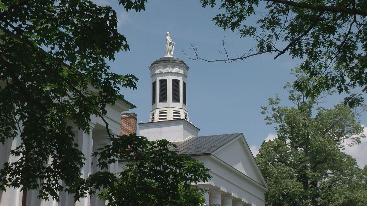 The campus of Washington and Lee University in Lexington, Va.