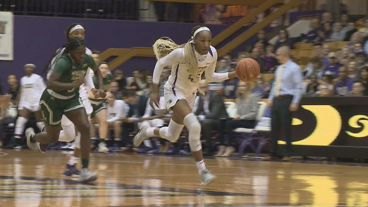 James Madison saw five players score in double figures, earning an 84-70 Colonial Athletic Association women's basketball win over William & Mary inside the Convocation Center on Friday night.