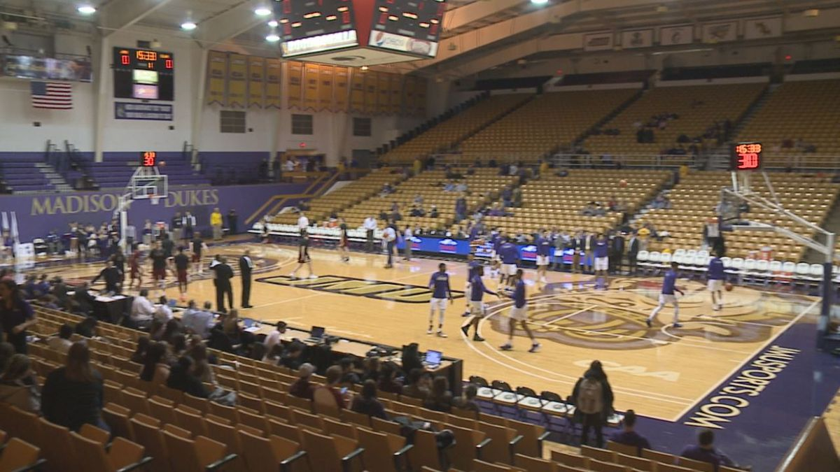 The JMU Convocation Center has been the home of the James Madison men's and women's basketball programs since the early 1980s.