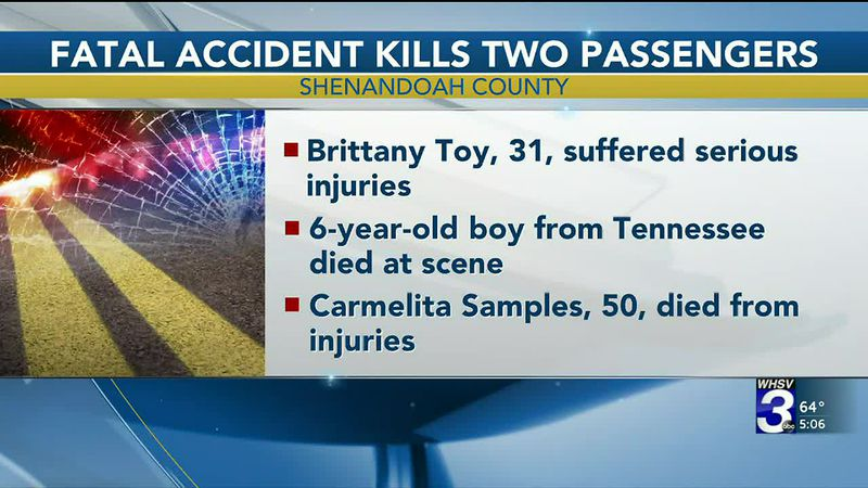 Tennessee boy, woman killed in crash on I-81 in Shenandoah County