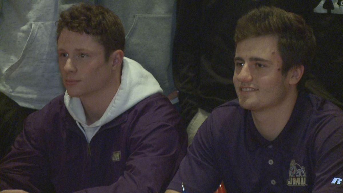 Riverheads baseball standouts Grant Painter and Braeson Fulton has signed to play at the...