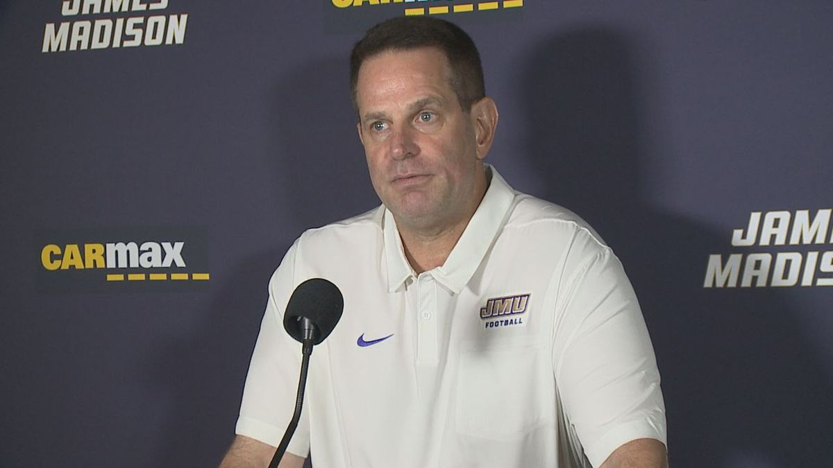 James Madison football head coach Curt Cignetti met with the media Monday for his weekly press conference.