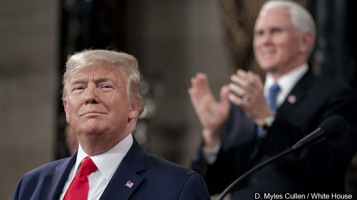 President Donald J. Trump delivers his State of the Union speech., Photo Date: 2/4/2020 | Photo: D. Myles Cullen / White House