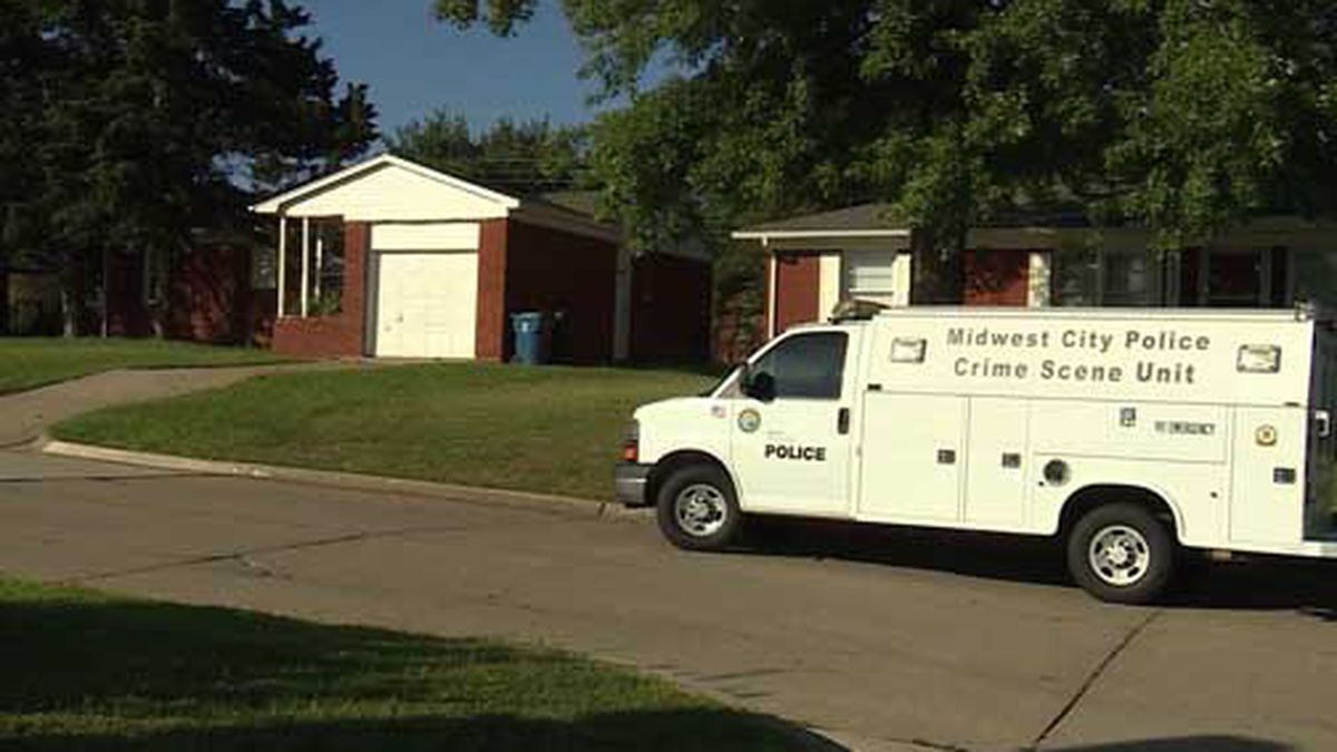 An 8-year-old accidentally shot his twin with their parents' handgun in Midwest City, Oklahoma. (Source: KOCO/Hearst/CNN)