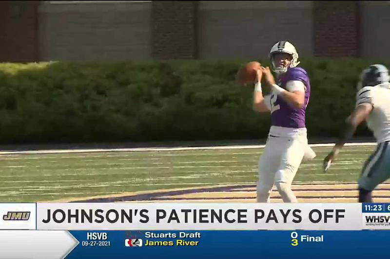 Johnson's patience pays off for JMU football