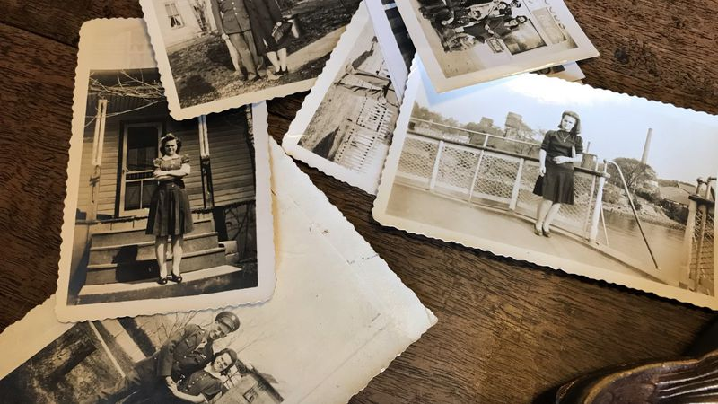 Some photos of Leroy Miller from World War II, gifted to the Rockbridge Historical Society