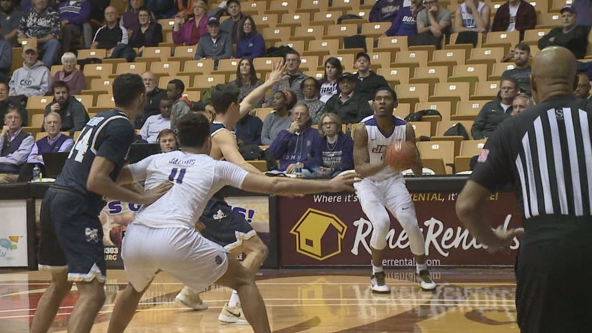 Five players scored in double figures on Monday night as James Madison defeated Charleston Southern, 81-60, in non-conference men's basketball action at the Convocation Center.