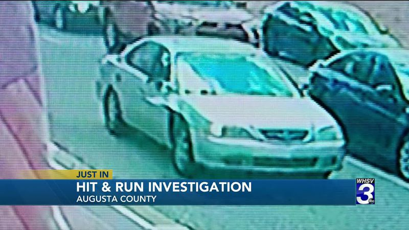 Driver wanted after hit and run crash in Augusta County