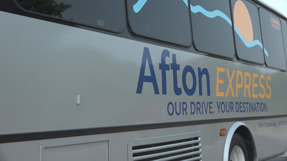 The Afton Express buses have arrived and are set to hit the road on Sept. 1.