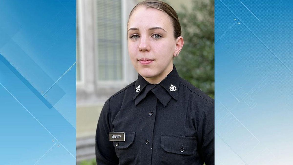 VMI Cadet Kasey Meredith
