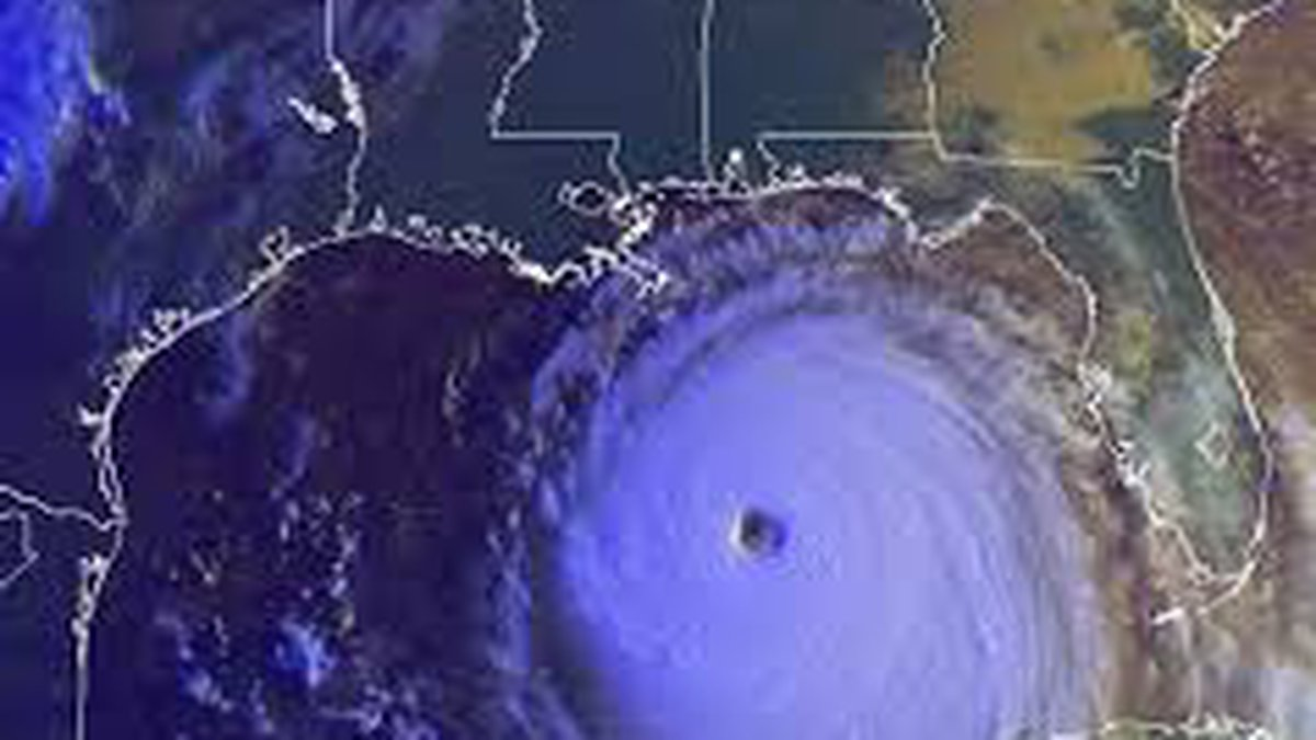 Katrina was massive which helped contribute to its insane storm surge.