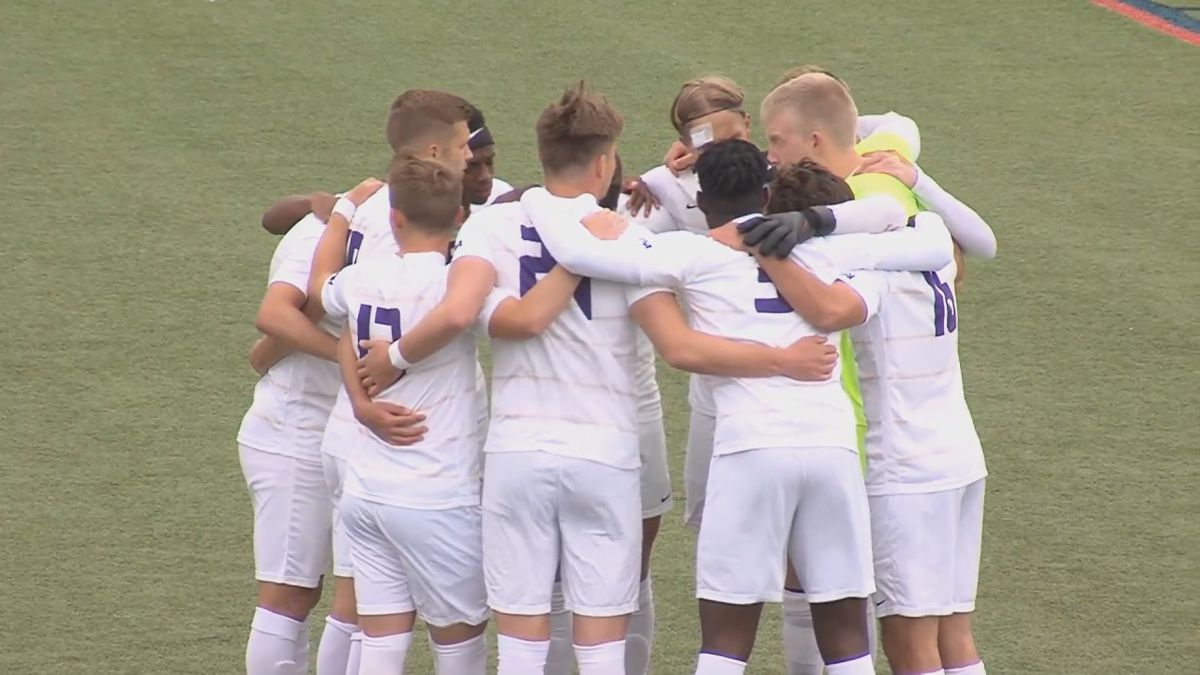 The James Madison men's soccer team will play UCF in the first round of the NCAA Tournament....
