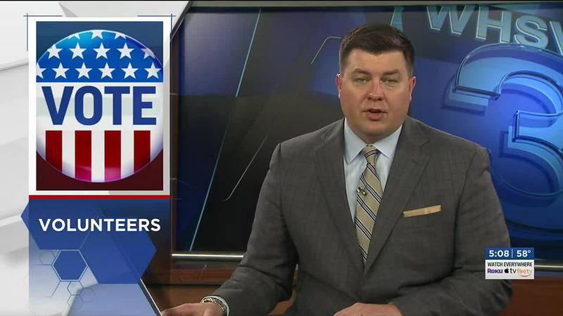 Volunteers in Waynesboro prepare ahead of Election Day