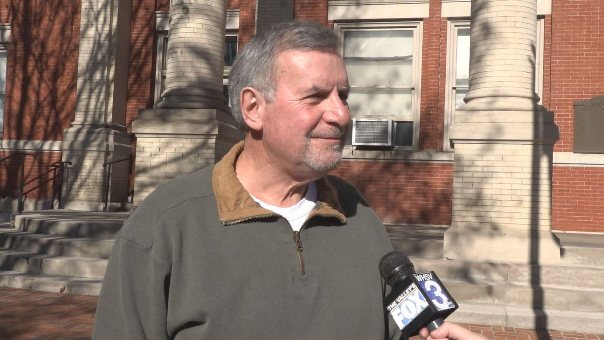 FILE IMAGE. John Avoli speaks with WHSV.