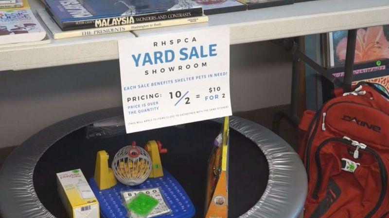 RHSPCA holds virtual yard sale