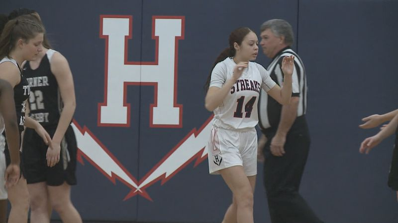 Harrisonburg High School girls basketball player Mariah Cain has committed to play at the NCAA...
