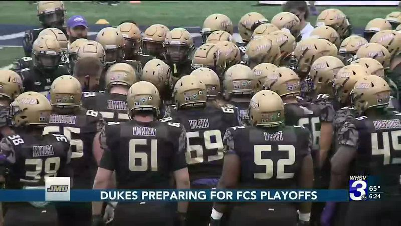 Dukes preparing for FCS Playoffs