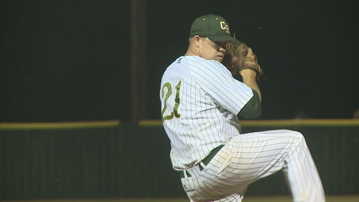 Corey Armentrout Threw a complete game and struck out seven batters in Clover Hill's 9-2 victory over Elkton Saturday night in RCBL action.
