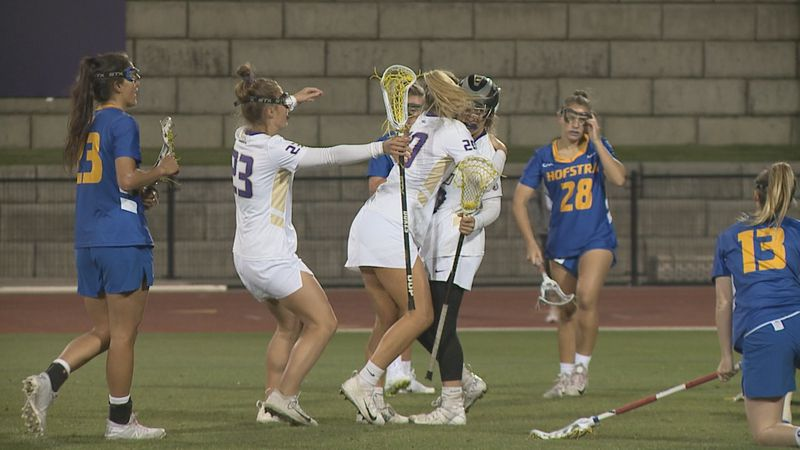 The James Madison women's lacrosse team will have a chance to win its fourth straight CAA...