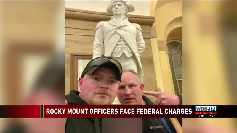 Rocky Mount Officers Face Federal Charges